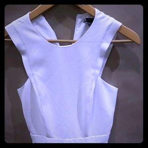 Armani Exchange white Polyester dress sz 0